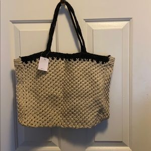 Urban outfitters woven tote